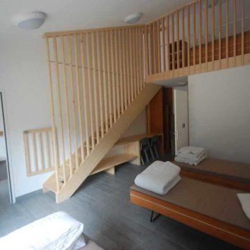 Hébergement collectif à Talmont Saint Hilaire Centre Porteau avec dortoir