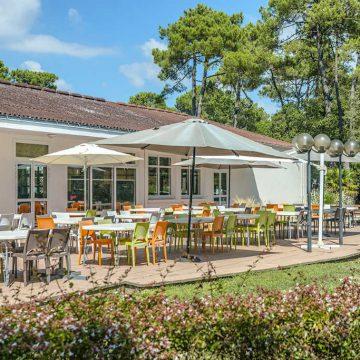 Restaurant Terrasse du Village Vacances Azureva à Longeville sur Mer