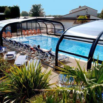 Camping La Frétille avec piscine couverte à Longeville sur Mer