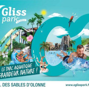 Parc aquatique O GLiss Park à Moutiers les Mauxfaits