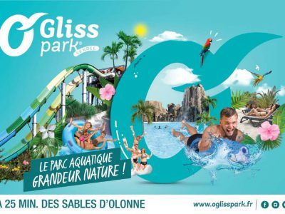 Parc aquatique O GLiss Park à Moutiers les Mauxfaits