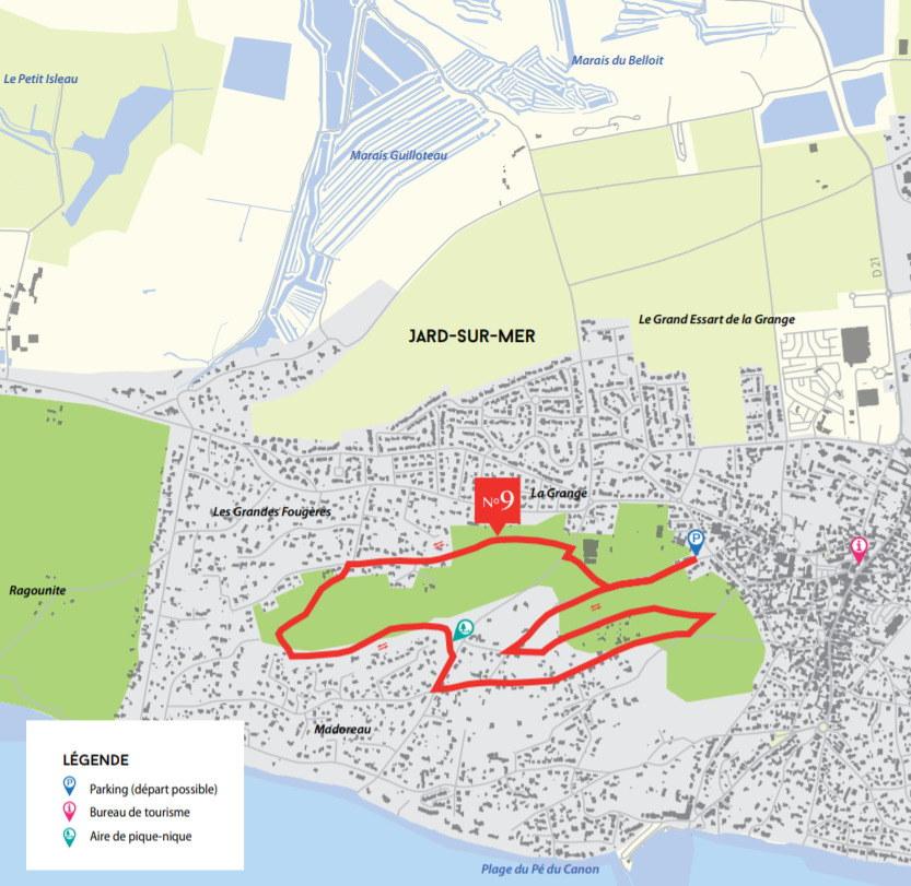 Circuit de Madoreau - Jard-sur-Mer