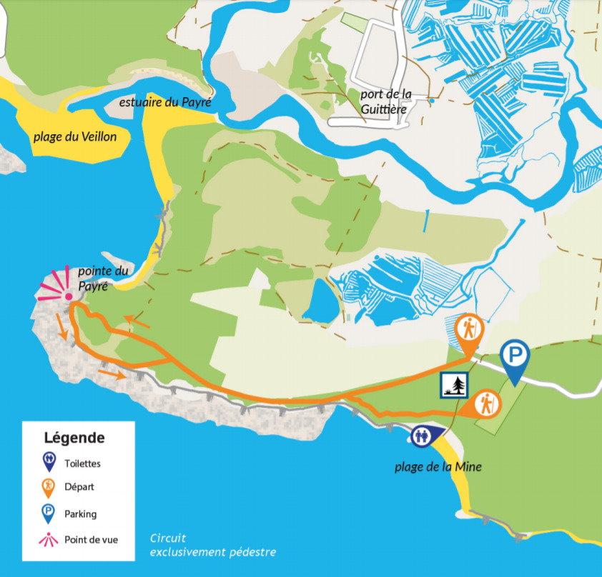 Circuit de la Pointe du Payré - Jard-sur-Mer