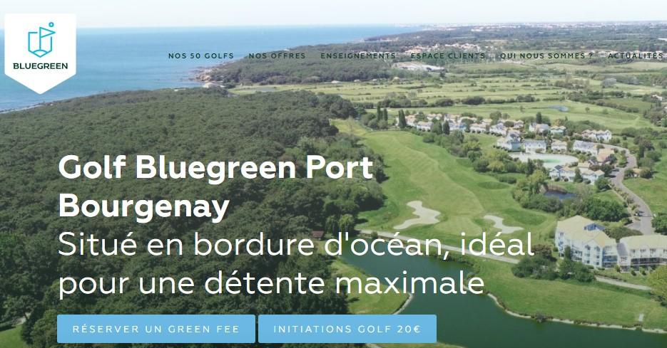 Site Golf Bluegreen - Port Bourgenay Vendée