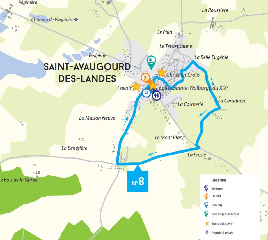 Circuit de l'Aprèle Saint-Avaugourd-des-Landes