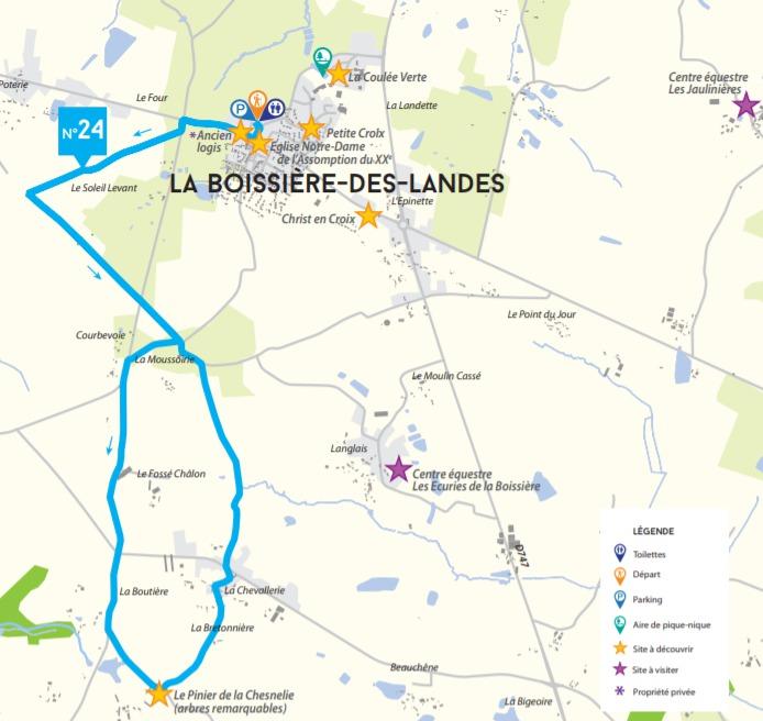 Circuit de la Chesnelie La Boissière-des-Landes
