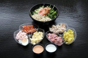 Vente à emporter - salades