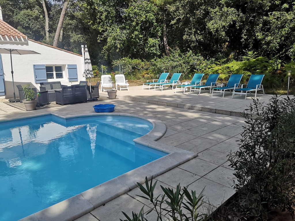 Villa Les Colibris, location de vacances à Jard-sur-Mer, classée 3 étoiles et 3 clés Clévacances