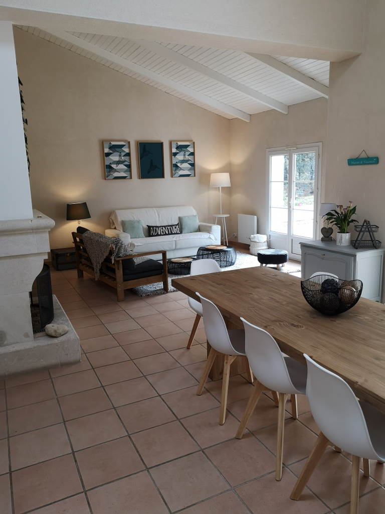 Villa Les Colibris, à Jard-sur-Mer, proche de la pointe du Payré